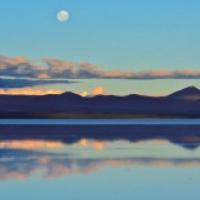 ウユニ塩湖(写真)